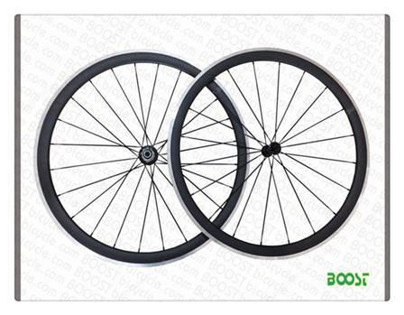 aluminum road bike parts 700C 50mm Clincher Carbon Alloy Road Bike wheelsets 23mm Width