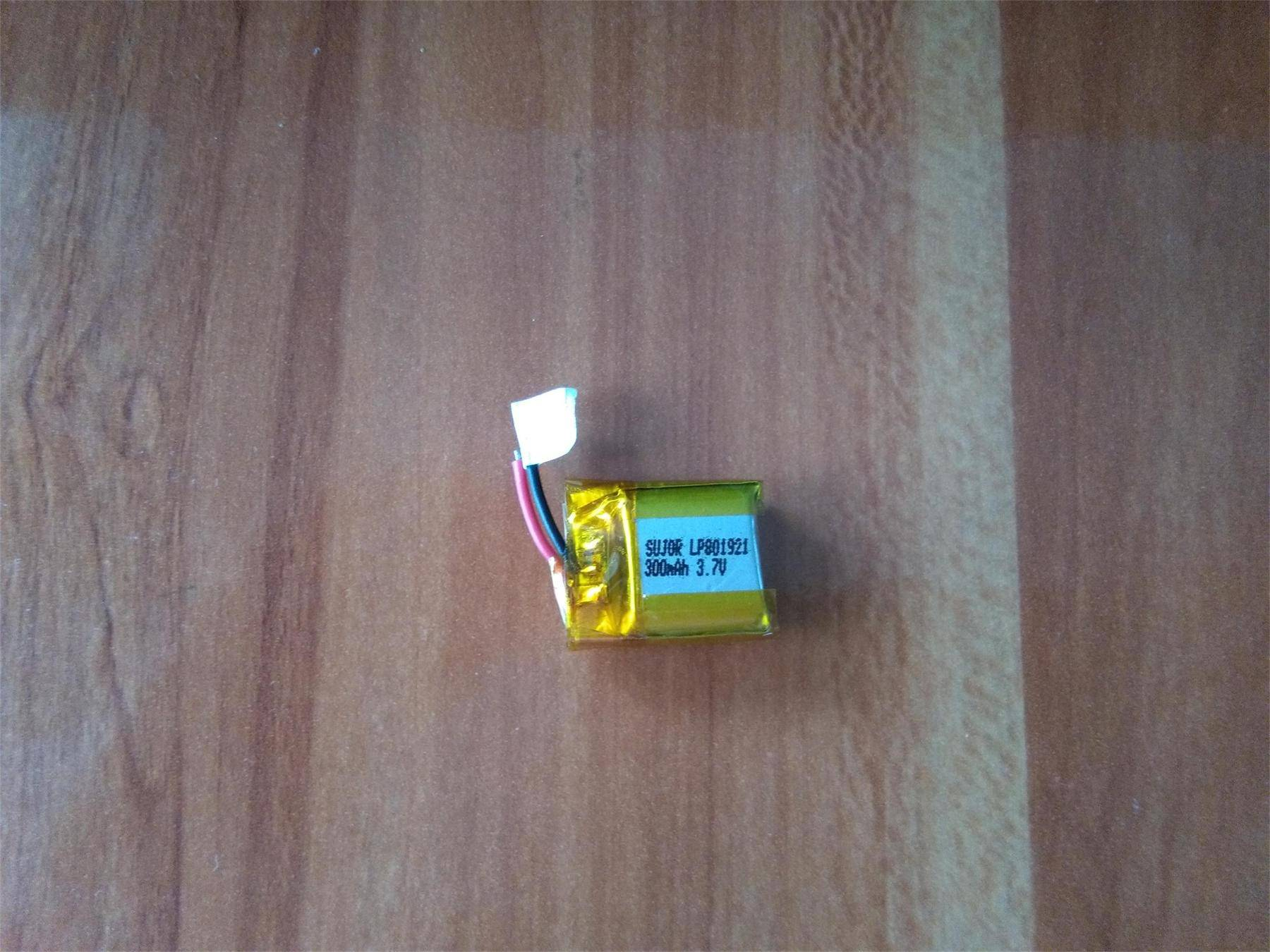 Lithium polymer battery for sexy product 3.7V LP801921