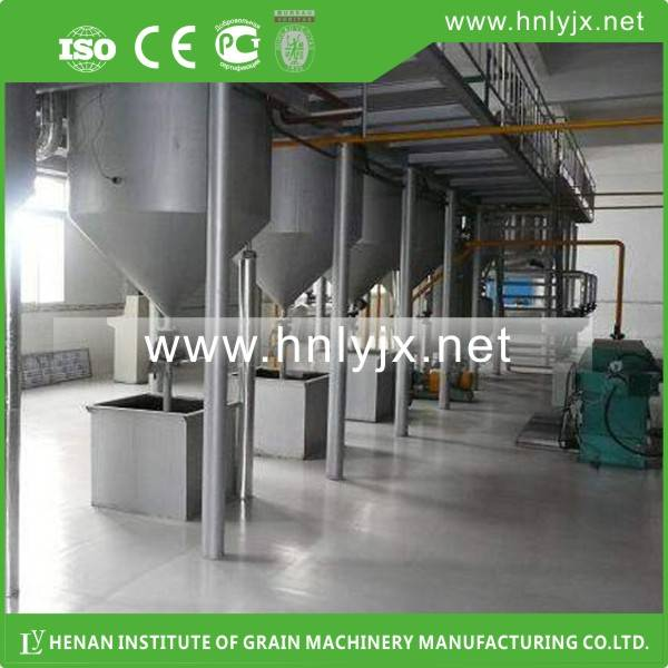 High Oil Yield Rice Bran Oil Refining Machine