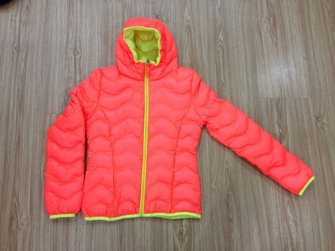 LM001 ladies imitation down jacket