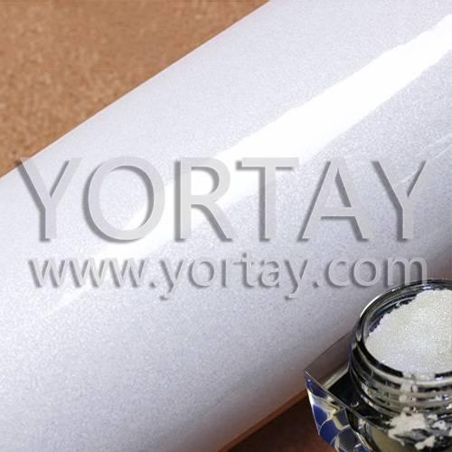 Hot Diamond White Flash Design Wallpaper Pearl Pigment