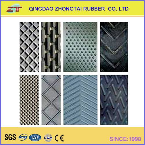 Chevron/Patterned Rubber Conveyor Belt