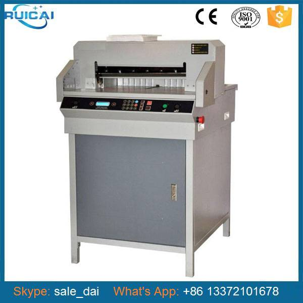 Full Automatic Paper Cutter Paper Guillotine Cutting Machine Price