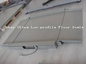 Ultra Low profile Floor Scale