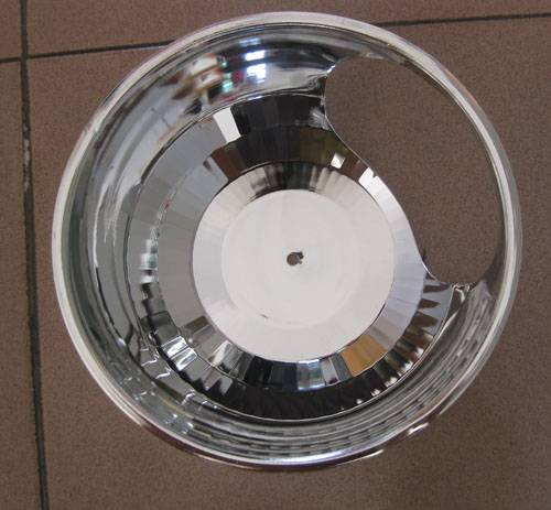 6 inch horziontal downlight reflector