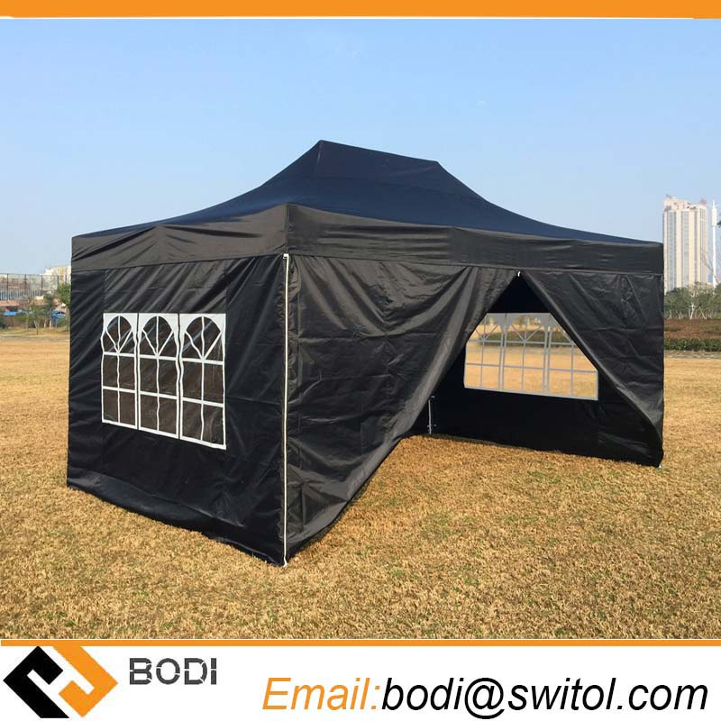 Hot 10X15 FT Custom Outdoor Reinforced Frame Gazebos Heavy Duty Pop up Marquee for Wedding Party