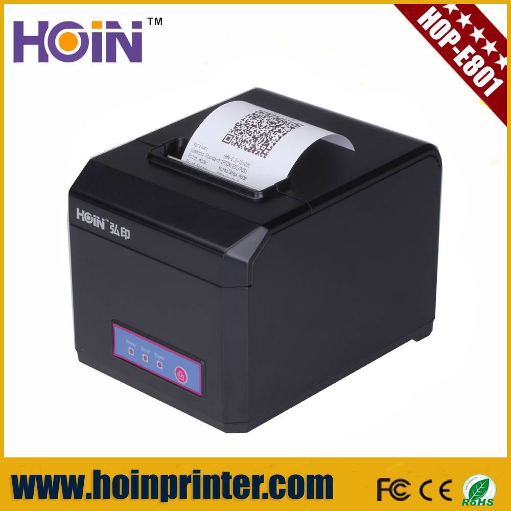 POS Thermal Printer 80mm Receipt Printer For POS System