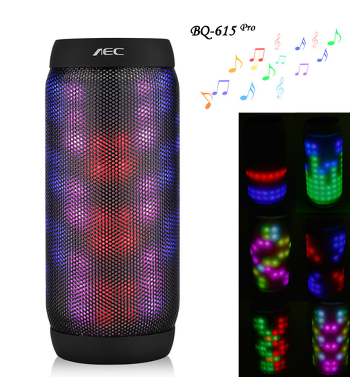 LED Stere Support TF Card FM Radio Wireless NFC Super Bass Subwoofer Sound Box Portable Speaker