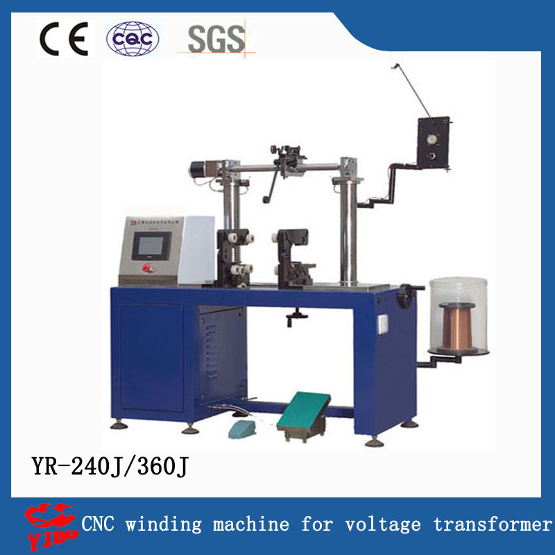 YR-240J360J CNC winding machine for voltage transformer