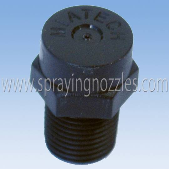 Low pressure misting nozzle