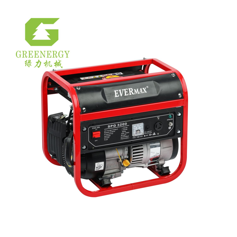 1.5kva gasoline generator set