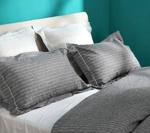 New coming color weaved stripe linen bedding set BL-021BL-021  Linen fabric is so great that that ca