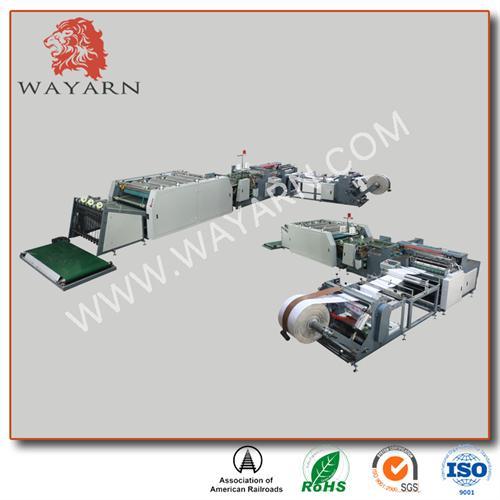 PP Woven Bag Cutting Sewing Printing Machine