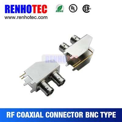 Double BNC Jack Connector