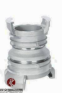 Aluminium Guillemin coupling with latch/lock /French coupling