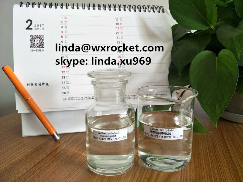 Highly Flammable 25 Sodium Methoxide In Methanol Transparanent Liquid
