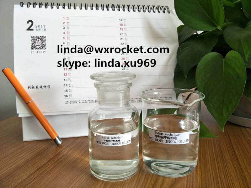Highly Flammable 25 Sodium Methoxide In Methanol Transparanent Liquid