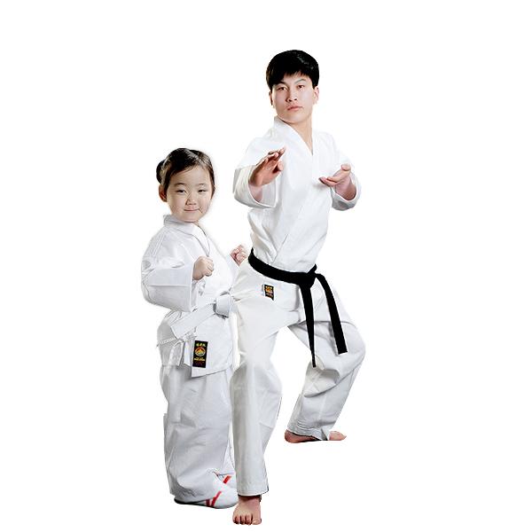 white color karate suit, karate uniform