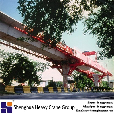 Industry selling segmental underslung launching gantry equipment crane