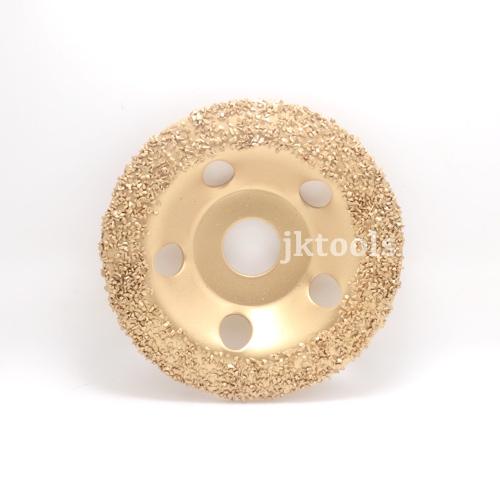Tungsten carbide grinding wheel 115mm diameter, 22.2mm bore