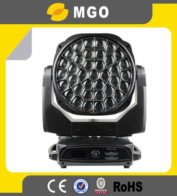 37x15w rgbw led zoom bee eye k20 moving head