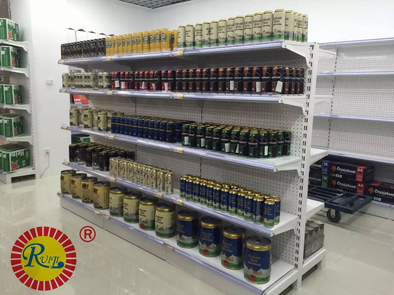 2016 classic supermarket shelf manufacturer in china