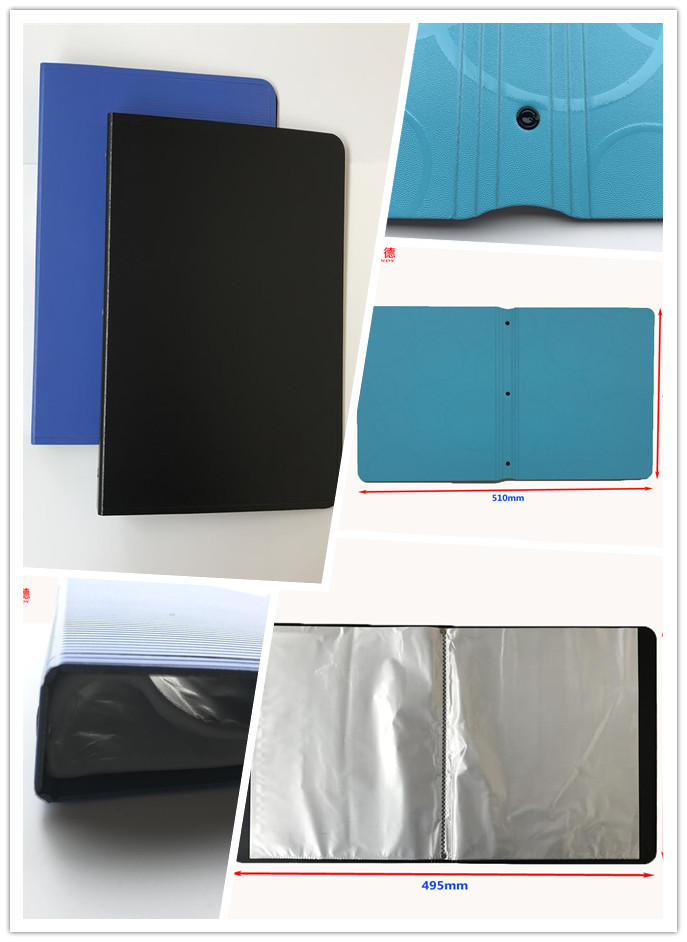 :Factory Supply School and Office Plastic PP Foam File Folder OEM Printed A4 Hot Sale Display Book