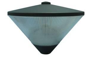 energy saving garden light pole light top mounting light