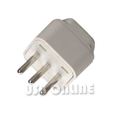 International Travel Grounded Adapter Plug