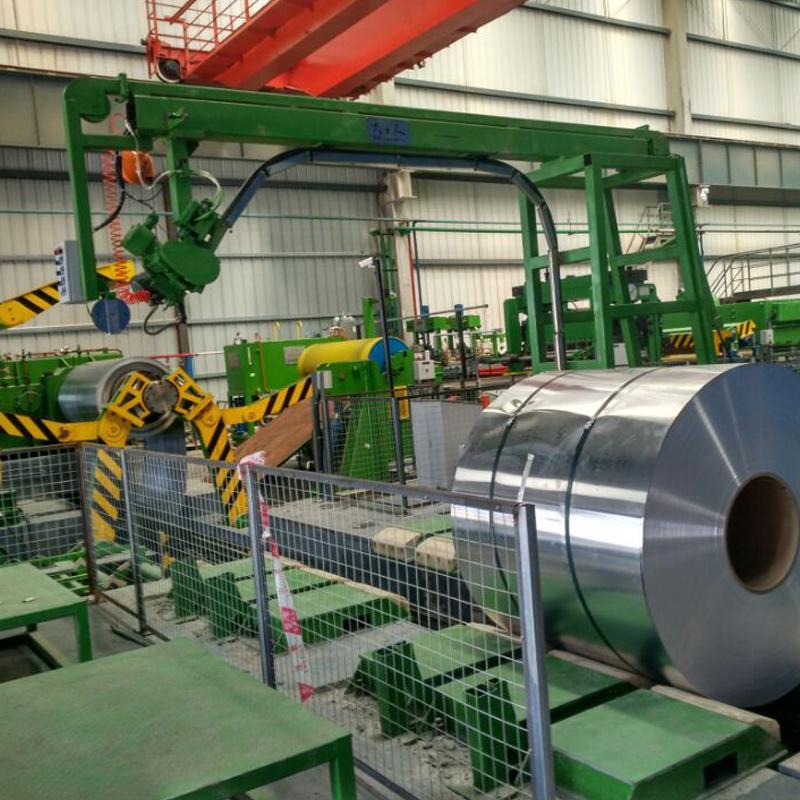 Semi-Automatic Aluminium Coil Steel Strapping Machine