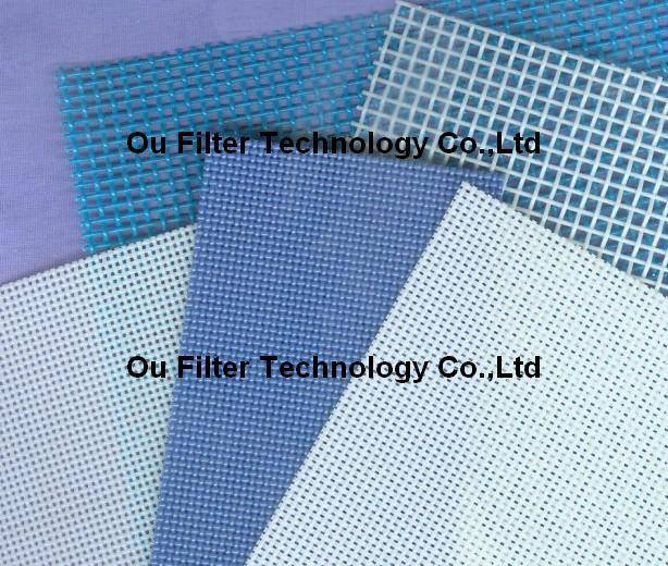 Polyester plain weaving mesh, mine sieving mesh, polyester filter mesh