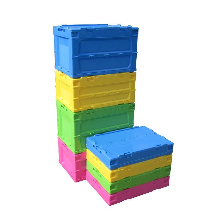 New Design Foldable Plastic Storage Box for Household Items