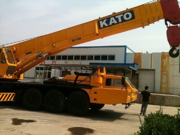 Used KATO Truck Crane NK800E cheap for sale