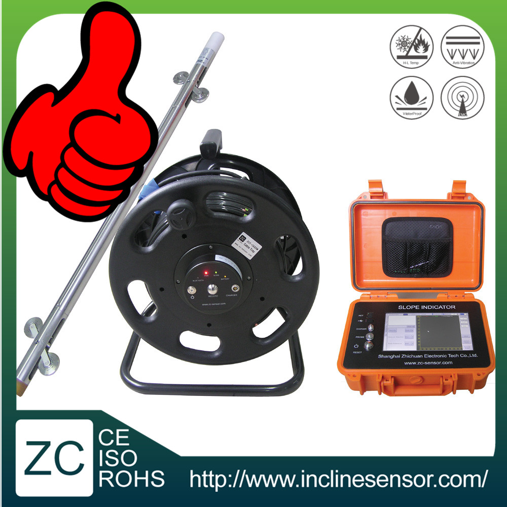 Geomonitoring inclinometer High accuracy Dual axis IP68 borehole inclinometer