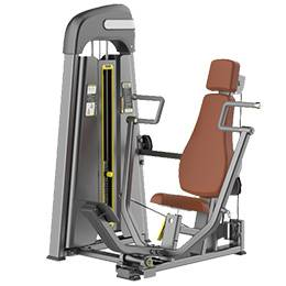 Commercial gym equipment chest press