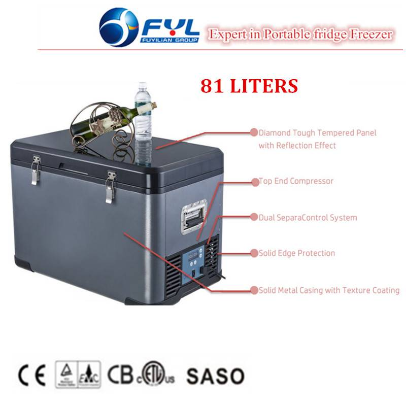 Portable 12v 24v mobile fridge for wholesales