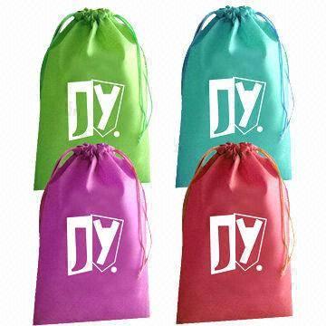 non woven fabric drawstring bag