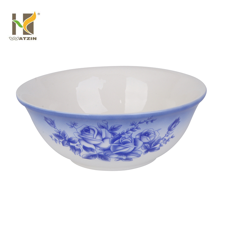 ceramic round rice bowl