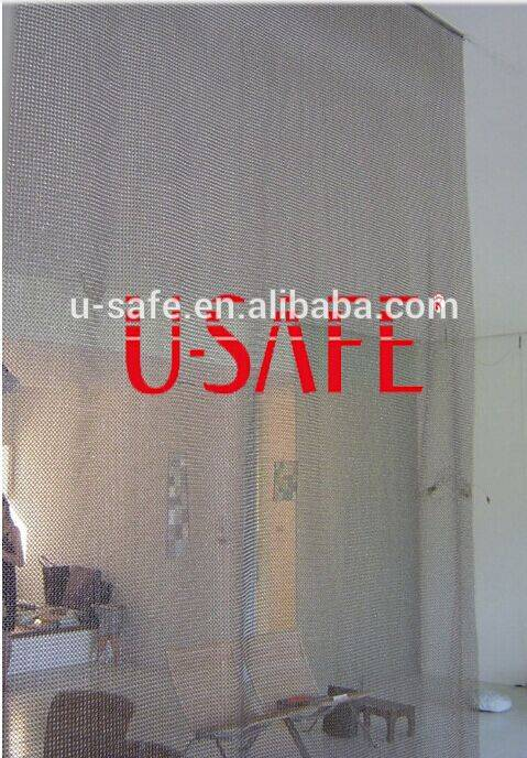 Stainless steel mesh curtains