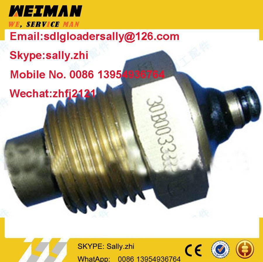 original Temperature Sensor, 30B0033  in yellow colour for liugong wheel loader