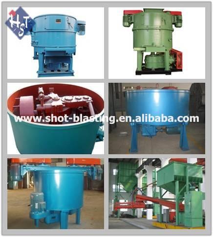 QDHST High efficiency sand mixer /molding sand mixer