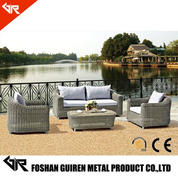 rattan cube garden furniture with outdoor rattan sofa bed