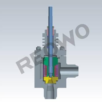 10S Series control valve (unbalanced trim)