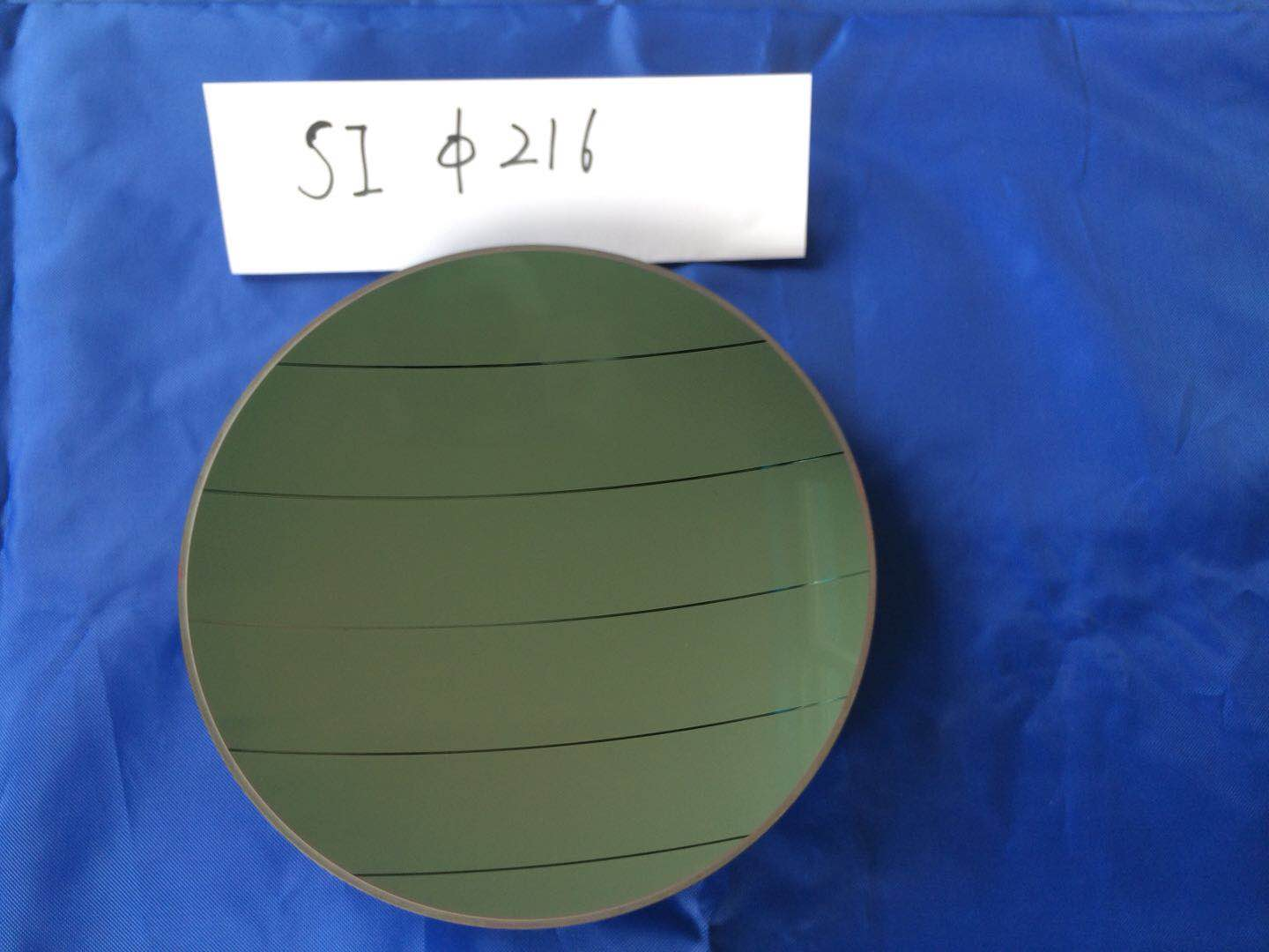 silicon window with DLC AR coating