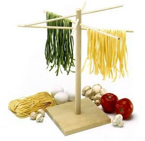 wooden pasta drying rack