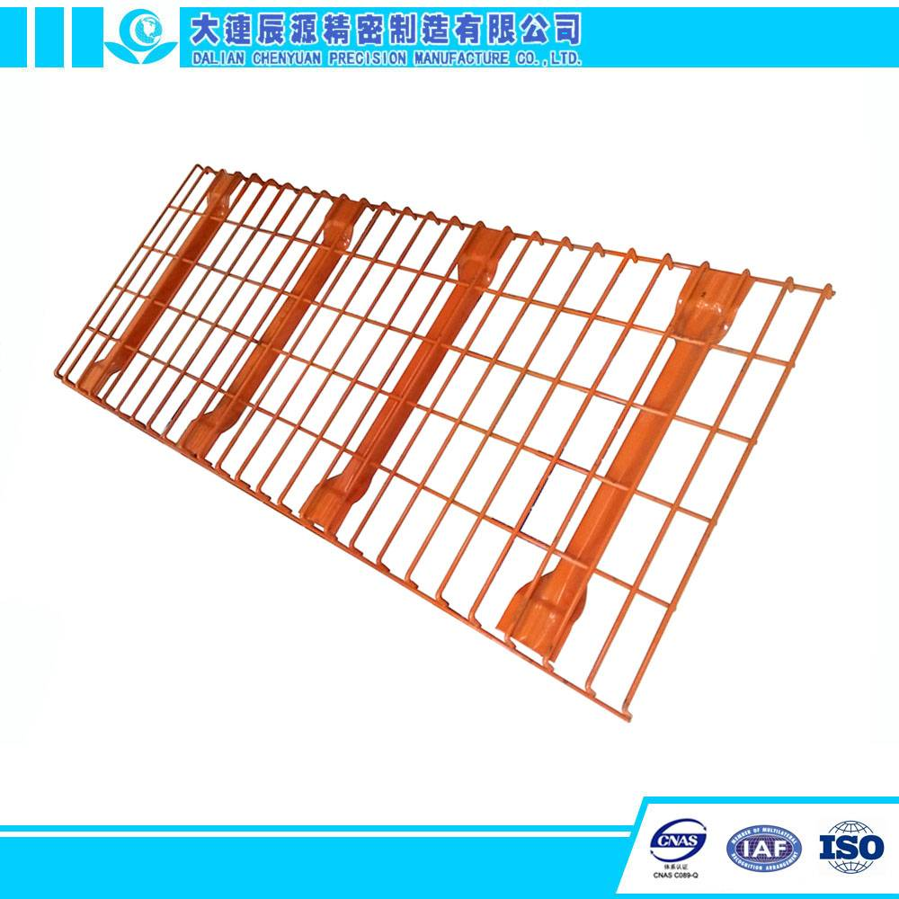 Industrial Warehouse use Pallet Rack Wire Mesh Decking Shelving