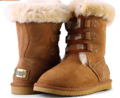 Wholesale New Antiskid Snow Boots for Women