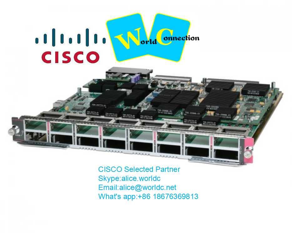 Cisco WS-X6716-10G-3C= Catalyst 6500 16 port 10 Gigabit Ethernet w/ DFC3C (req X2) Network Module