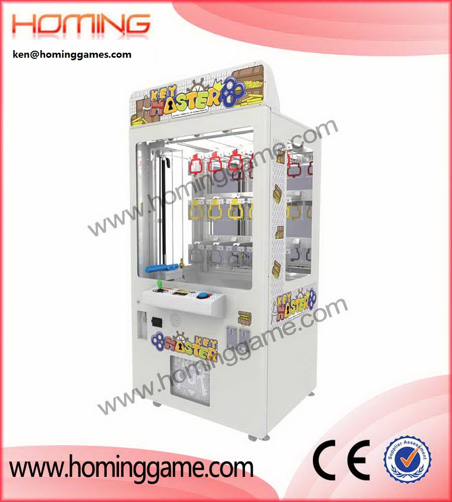 Most popular prize vending game key master arcade