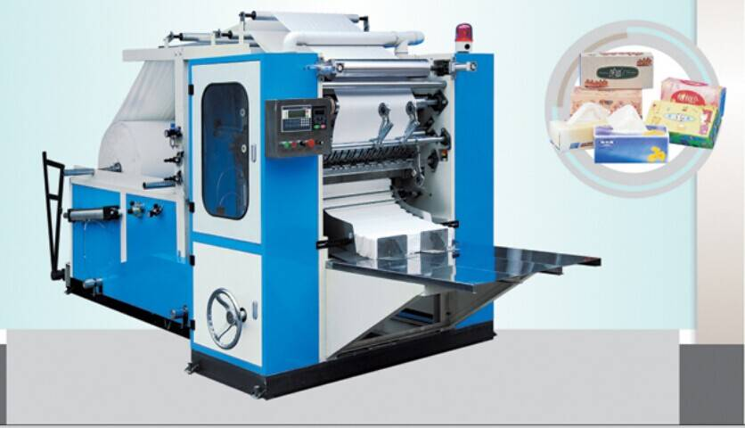 CS-190/3L Full Automatic Box Drawing Facial Tissue Machine